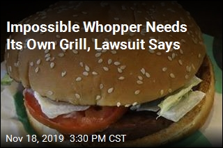 Impossible Burger Had Residue From Meat on It: Vegan Suit