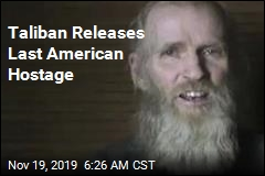 Last American Held by Taliban Goes Free