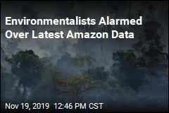 Environmentalists Alarmed Over Latest Amazon Data