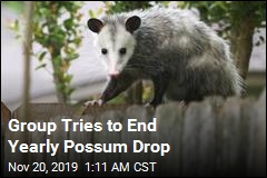 Group Tries to End Yearly Possum Drop