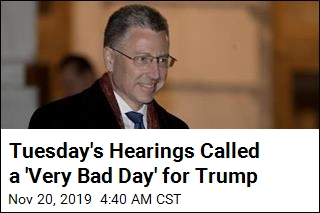 "Tuesday's Hearings Called a ""Very Bad Day' for Trump"