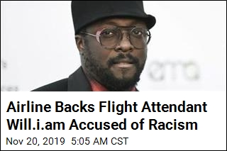 Will.i.am. Has Beef With Australian Airline