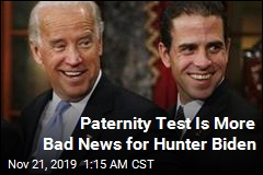 Paternity Test Is More Bad News for Hunter Biden