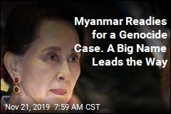 Suu Kyi to Head Defense in Genocide Case
