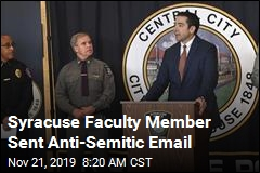 Another Racist Event at Syracuse: Anti-Semitic Email