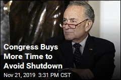 Congress Buys More Time to Avoid Shutdown