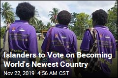 Vote Could Make Island World's Newest Country