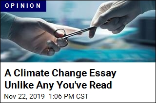 His Personal Climate Change Solution: a Vasectomy