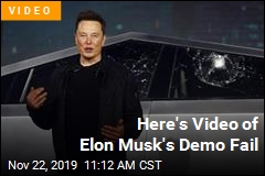 Here Is Video of Elon Musk's Demo Fail