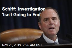 Schiff: Impeachment Evidence Is 'Overwhelming'