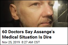 60 Doctors Warn Ailing Assange 'Could Die in Prison'