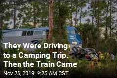 They Were Driving to a Camping Trip. Then the Train Came