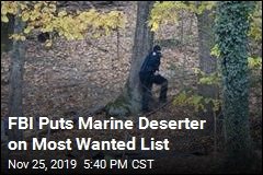 FBI Puts Marine Deserter on Most Wanted List