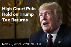 Supreme Court Temporarily Blocks House From Trump's Tax Returns