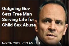Outgoing Gov Sets Free Man Serving Life for Child Sex Abuse