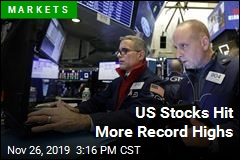 US Stocks Hit More Record Highs