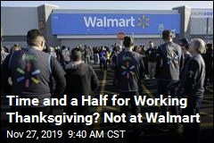 No Extra Pay for Walmart Workers This Holiday