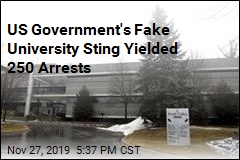 Sting at Fake University Yielded 250 Arrests