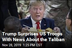 Trump Surprises US Troops