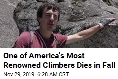 One of America's Most Renowned Climbers Dies in Fall