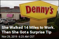 She Walked 14 Miles to Work. Then She Got a Surprise Tip