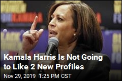 Kamala Harris Is Not Going to Like 2 New Profiles