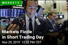 Markets Fizzle in Short Trading Day