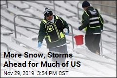 More Snow, Storms Ahead for Much of US