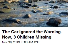 The Car Ignored the Warning. Now, 3 Children Missing