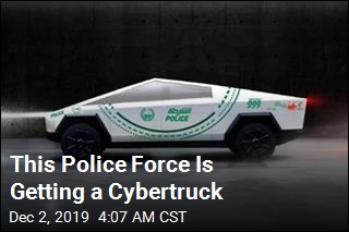 Dubai Cops Want a Cybertruck in Their Fleet