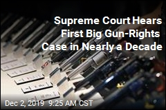 Supreme Court Hears Big Gun-Rights Case