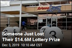 Lottery Has Never Had an Unclaimed Jackpot This Big