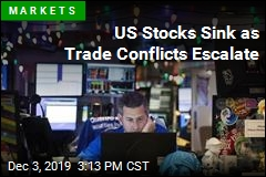 US Stocks Sink as Trade Conflicts Escalate