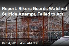 Report: Rikers Guards Stood by as Inmate Tried to Hang Himself