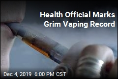 50th State Reports Vaping Injury