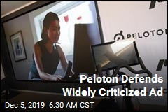 Peloton Defends Widely Criticized Ad