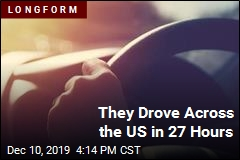 They Drove Across the US in 27 Hours