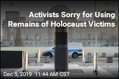 Activists Sorry for Using Remains of Holocaust Victims