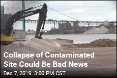 Collapse of Contaminated Site Could Be Bad News