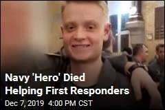 Navy 'Hero' Died Helping First Responders
