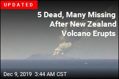 Tourists Missing After New Zealand Volcano Erupts