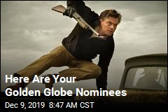 Golden Globe Nominations Are Out