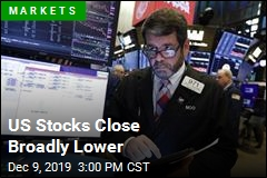 US Stocks Close Broadly Lower