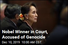 Suu Kyi in Court for Genocide Hearing