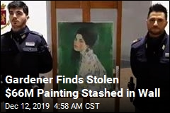 Stolen $66M Painting Found Stashed in Gallery Wall