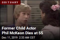 Former Child Actor Phil McKeon Dies at 55