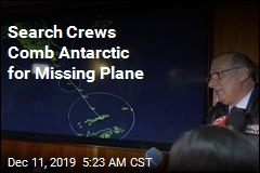 Search Crews Comb Antarctic for Missing Plane