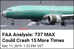 FAA Analysis: 737 MAX Could Crash 15 More Times