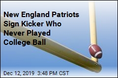 New England Patriots Sign Kicker Who Never Played College Ball