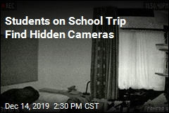 Students Find Cameras Hidden in Hotel Room